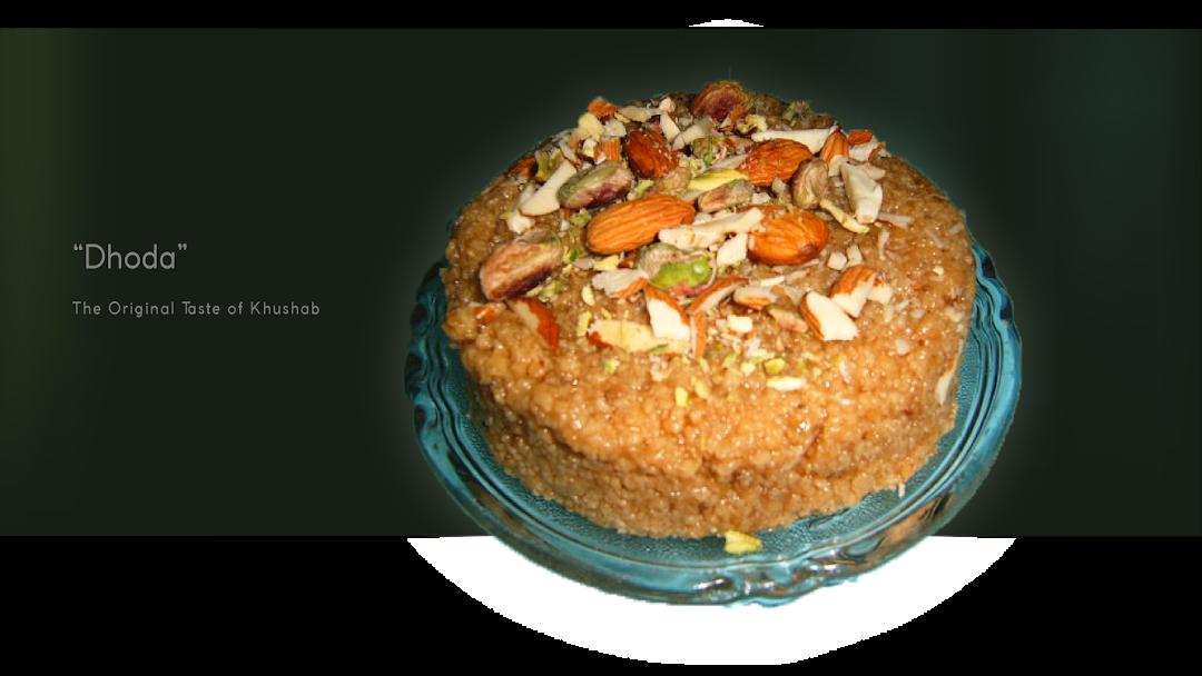 Buy Online Asli Khushabi Dhoda Sweet